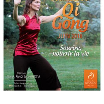 journées  DU QI GONG juin 2018   » SOURIRE,NOURRIR LA VIE»