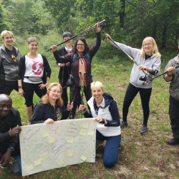 NOUVEAU : la marche nordique dans l'association QI GONG DES TROIS VALLEES